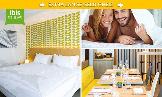 Overnachting + ontbijt + drankje voor 2 in Kortrijk