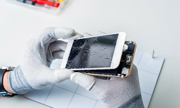 Schermreparatie voor iPhone of iPad