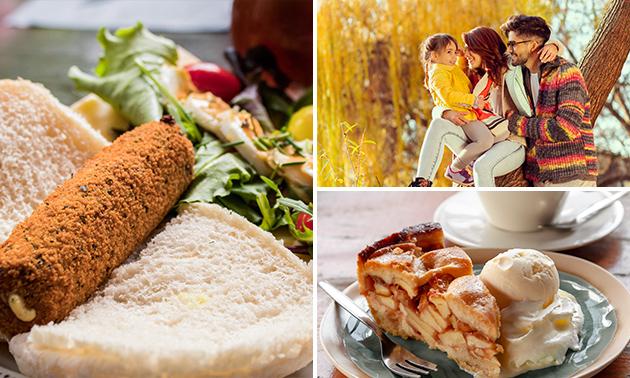 Wandel- of fietsarrangement + lunch bij Ie Sicht