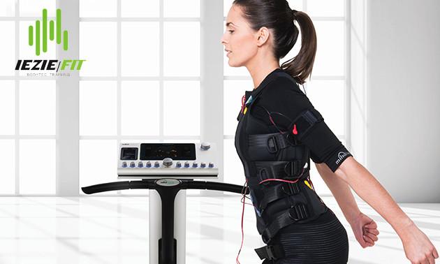 Fitnesstrainingen met EMS bij IEZIE-Fit