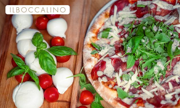 Italiaans 3-gangen keuzediner + brood bij Il Boccalino