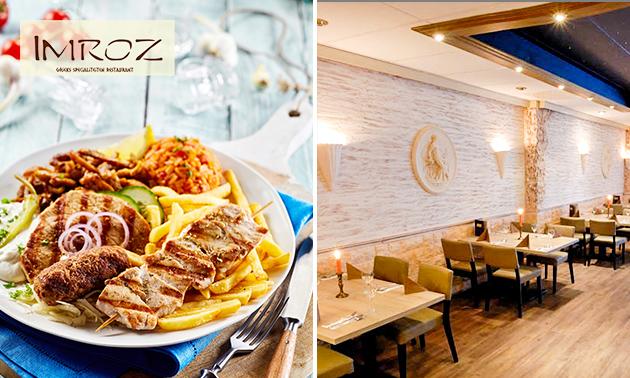 All-You-Can-Eat Grieks buffet bij Imroz