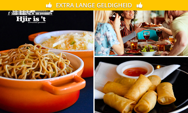 Indonesisch restaurant Hjir is ´t