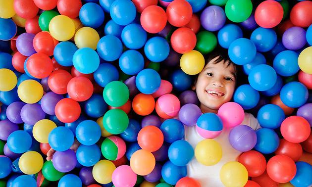 Entree voor indoor speeltuin