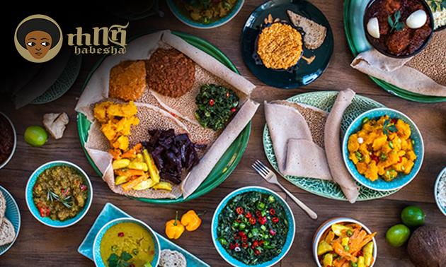 Afhalen: Ethiopisch hoofdgerecht + drankje