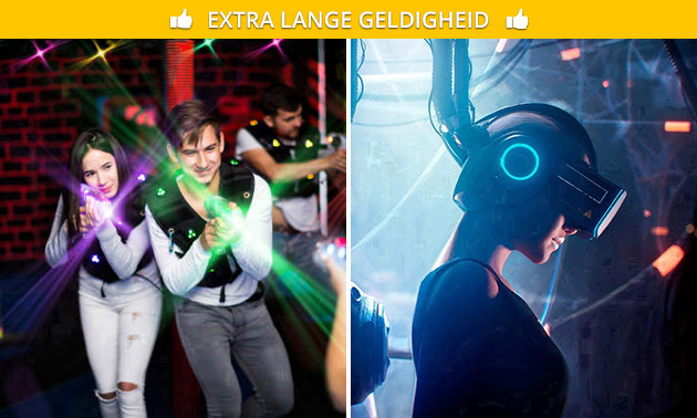 Lasergame en/of virtual reality-spel