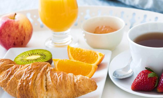 Ontbijt + koffie/thee bij Intratuin Breda