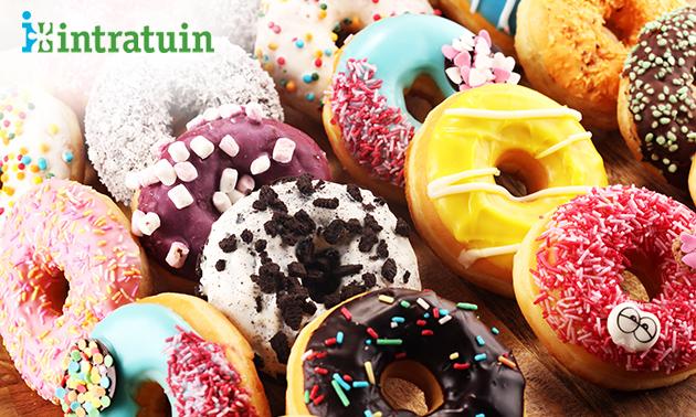 Afhalen: 6 donuts naar keuze bij Intratuin Breda