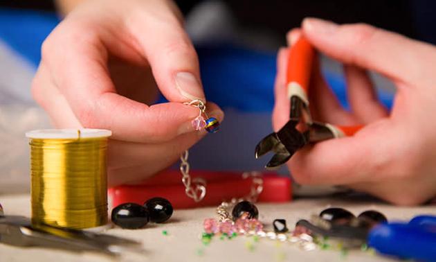 Workshop sieraden maken (1,5 uur)