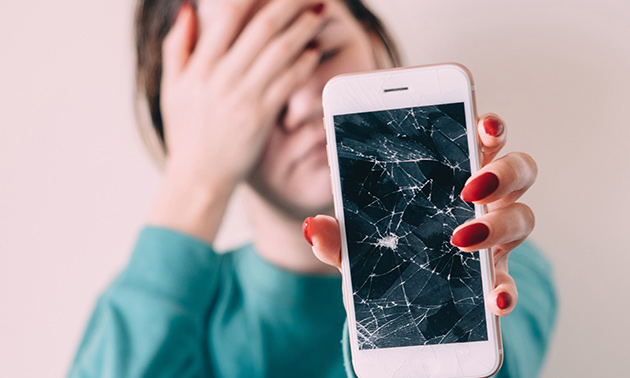 Schermreparatie van je iPhone of iPad