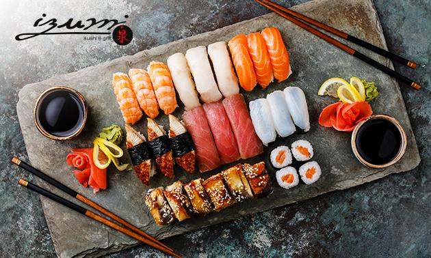 Afhalen: sushibox naar keuze of pokébowls bij IZUMI Venlo