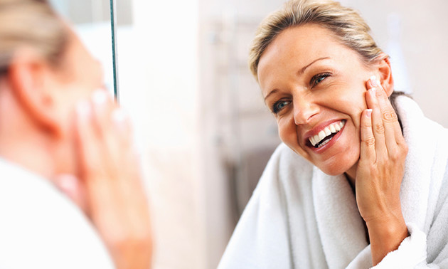 Anti-aging gezichtsbehandeling(en)