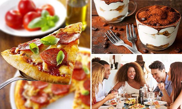 Johns Kitchen Nuenen.Pizza 18 Keuzes Tiramisu Voor Afhaal