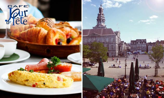 Luxe ontbijt + cava in hartje Maastricht