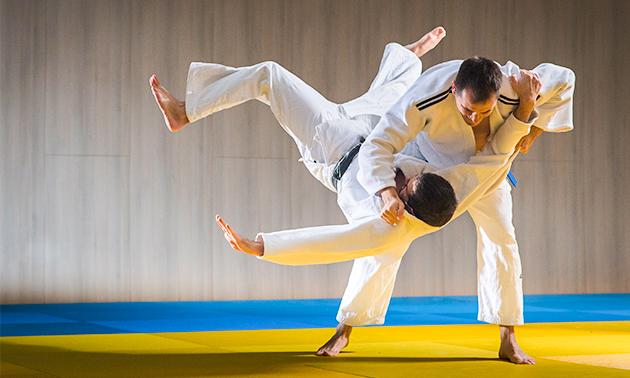 10-rittenkaart voor judolessen