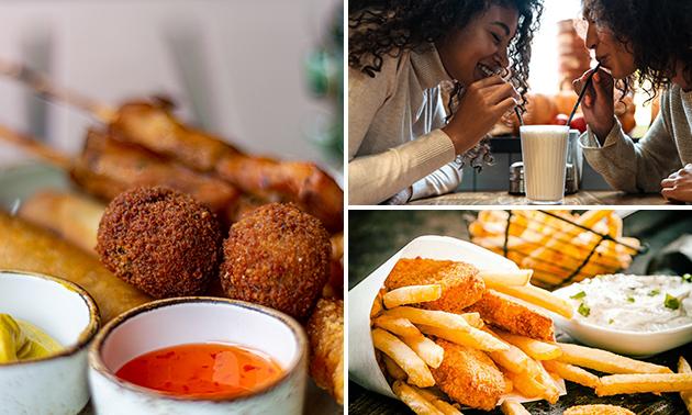 High friet met onbeperkt friet bij KafeTaria