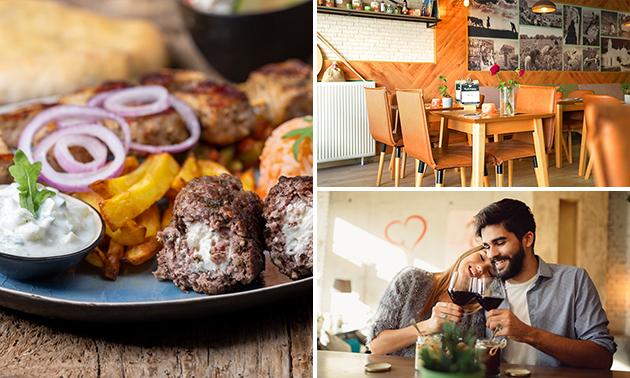 4-gangen BBQ-diner + amuse bij Kalimera Uden