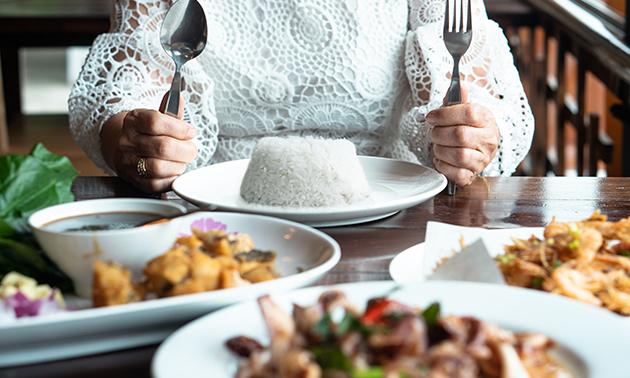 Afhalen: Filipijnse rijsttafel voor de feestmaand