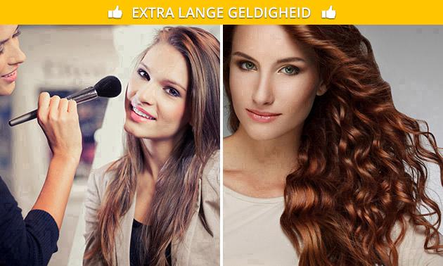 Workshop haar en make-up (3 uur)