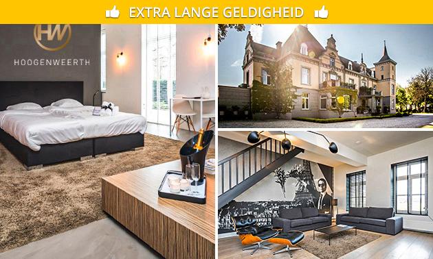 Overnachting(en) voor 2 in een kasteel in Maastricht