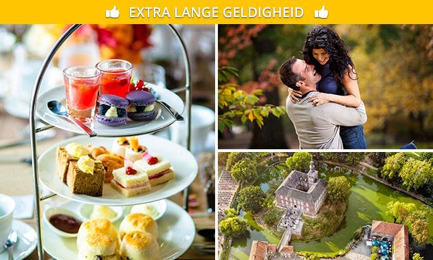 Kastelentocht + mini-high tea bij Kasteel Limbricht