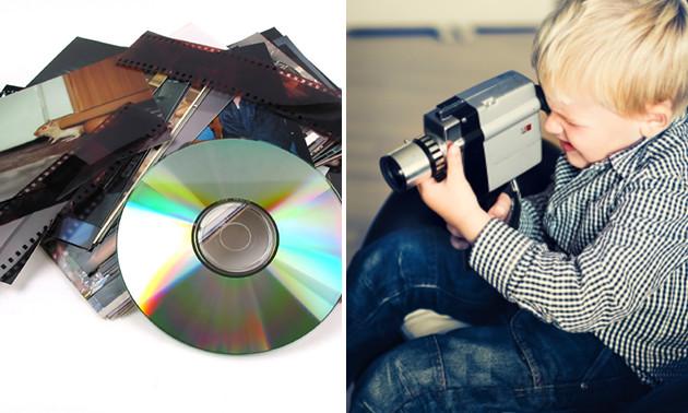 Overzetten van videoband naar dvd bij Kees Rutgers