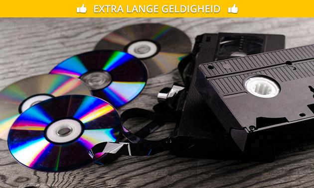 Videobanden digitaliseren bij Kees Rutgers