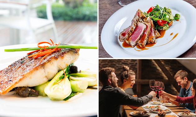 Afhalen: 4-gangen shared dining