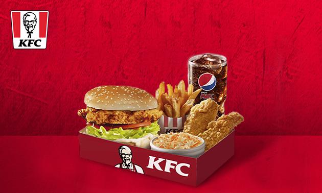 Large boxmeal naar keuze bij KFC