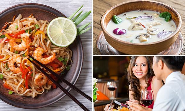 Thais 3-gangen keuzediner bij Kim's Kitchen