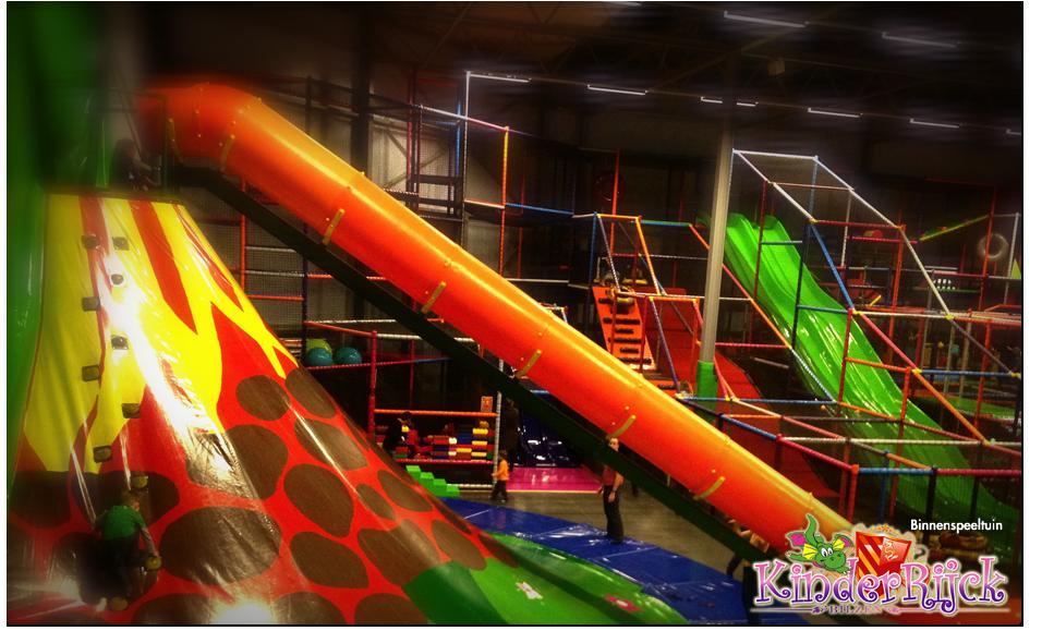 Kinderrijck Entree Voor Indoor Speelparadijs Kinderrijck Bespaar
