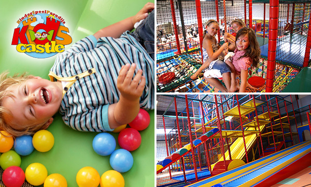 Kinderspeelparadijs Kids Castle Entree Tot Kinderspeelparadijs Kids