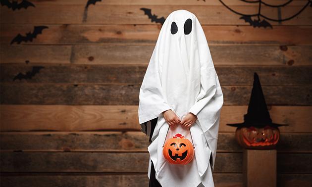 Halloween-spooktocht + evt. hotdog en drankje