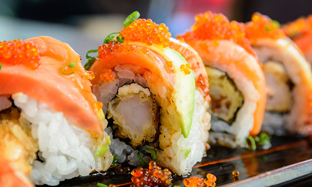 All-You-Can-Eat sushi + dessert in hartje Goes