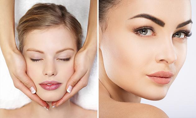 Gesichtsbehandlung (60 Min.) oder Zahnbleaching
