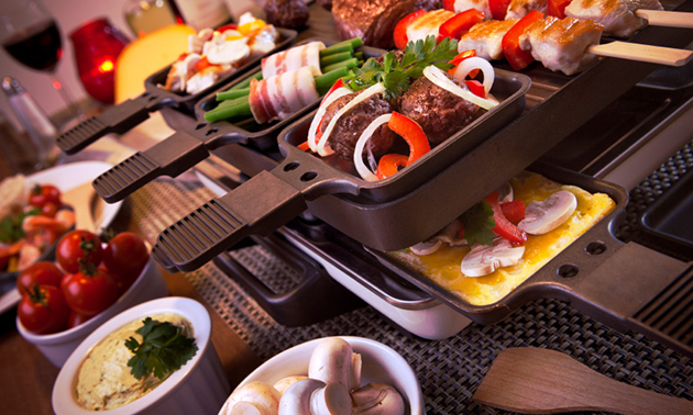 Thuisbezorgd of afhalen: luxe gourmetschotel voor 2