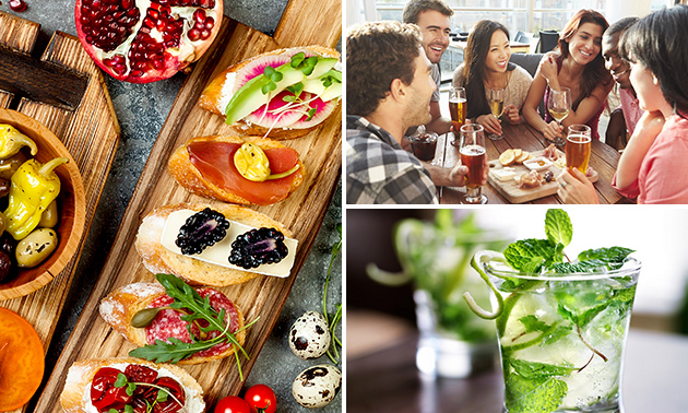 All-You-Can-Eat tapas (3 uur) + mojito bij Lakeside