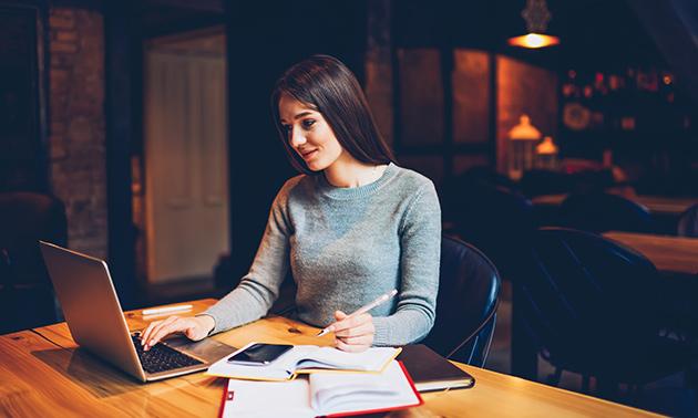 Online management-beroepsopleiding