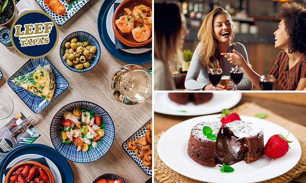 All-You-Can-Eat tapas + dessert