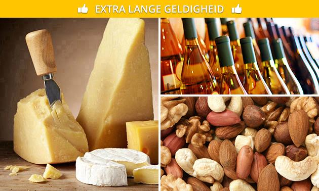 Waardebon voor kazen, noten, wijn en meer