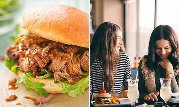 Afhalen: lunch + drankje bij Levy's
