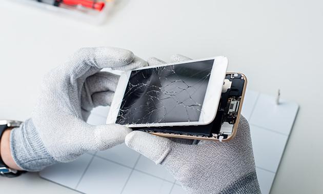 Schermreparatie van je iPhone