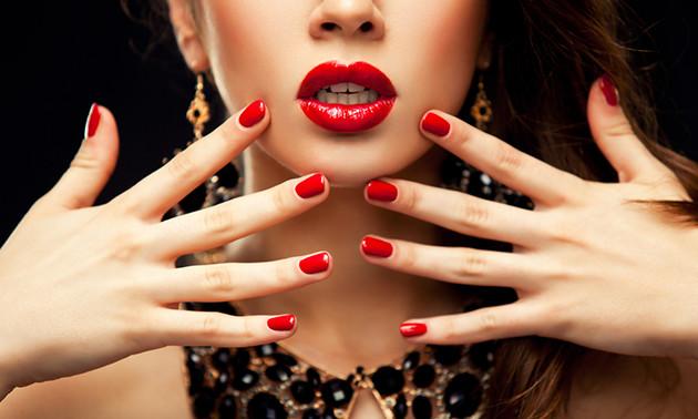 Mini-manicure + gellak