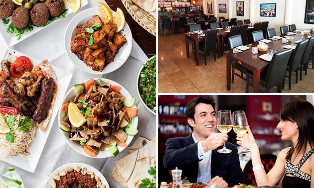 6-gangen proeverijdiner bij Libanees Restaurant Amier