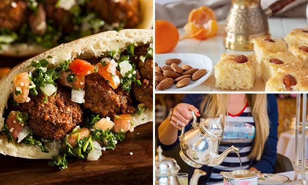 Libanese high tea (2 uur) bij Restaurant Amier