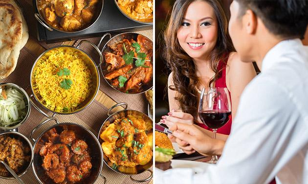 Thali-rijsttafel bij Light Of India in hartje Rotterdam