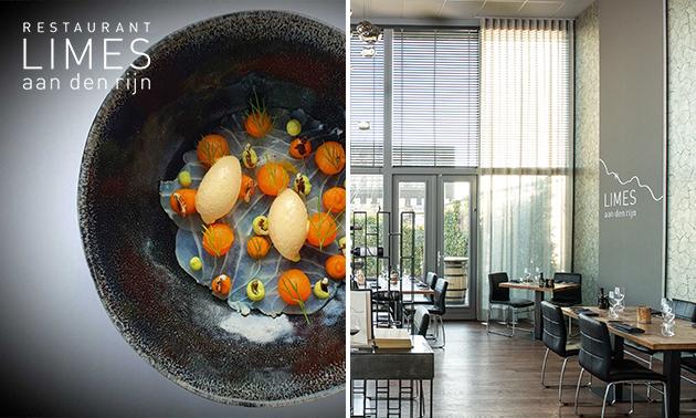 Afhalen: culinair 3-gangendiner bij LIMES aan den Rijn