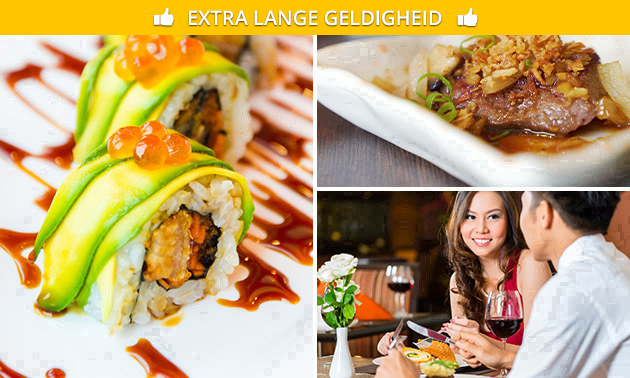 All-You-Can-Eat Aziatische tapas & sushi bij Lin Hua Cuisine
