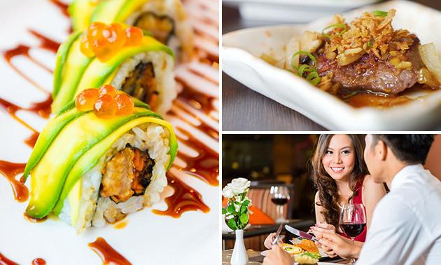 All-You-Can-Eat Aziatische tapas & sushi bij Lin Hua Cuisine