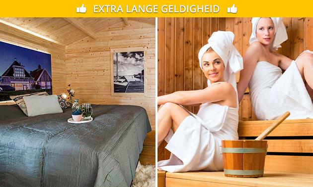 Overnachting + wellness voor 2 in Makkum